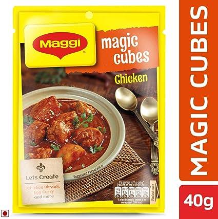 Maggi Magic Cubes Chicken Multi-Pack, 40g - (10 Cubes x 4g)