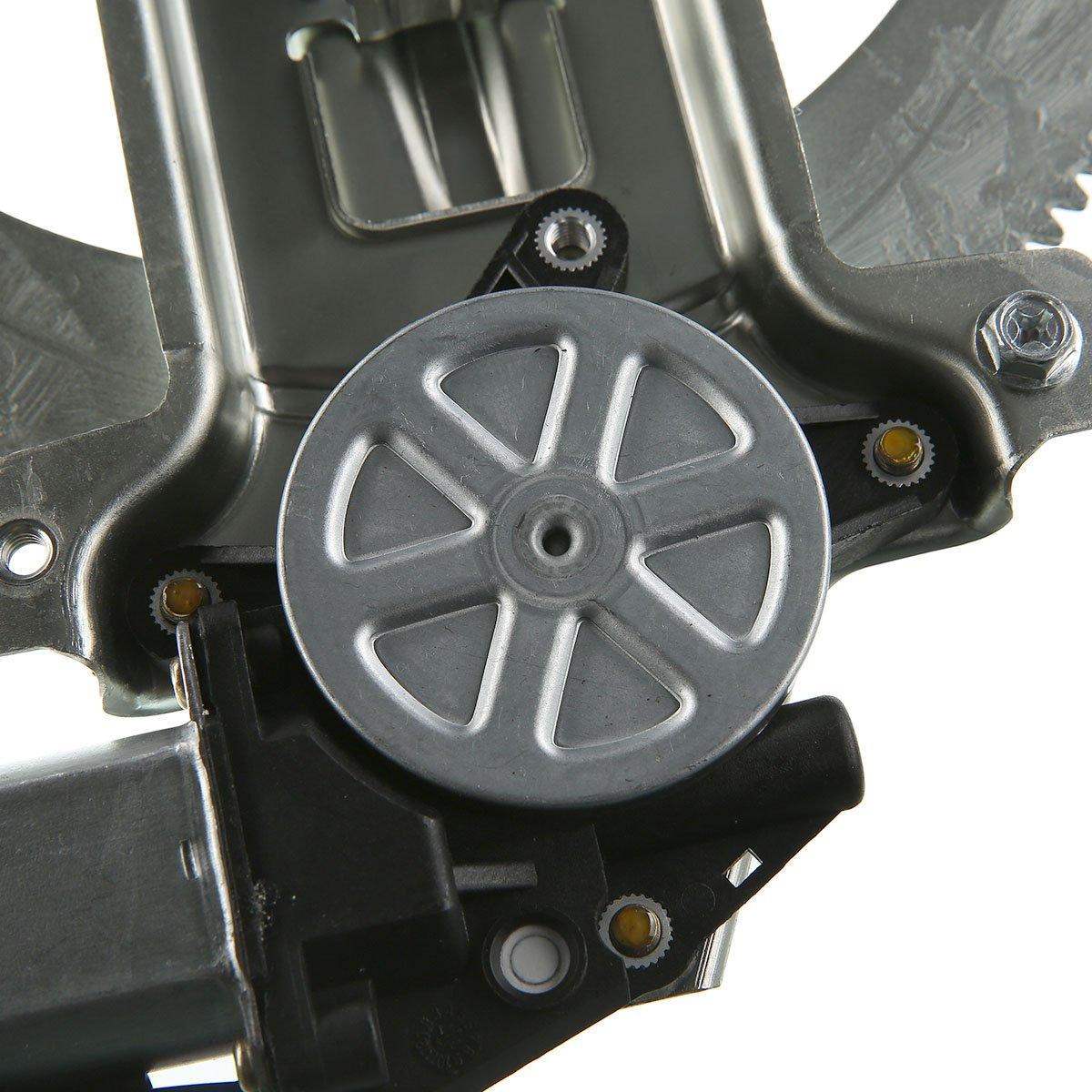 Front Passenger Side Power Winder Regulator with Motor Assembly for Chevrolet Colorado GMC Canyon Isuzu i-280 i-290 i-350 i-370