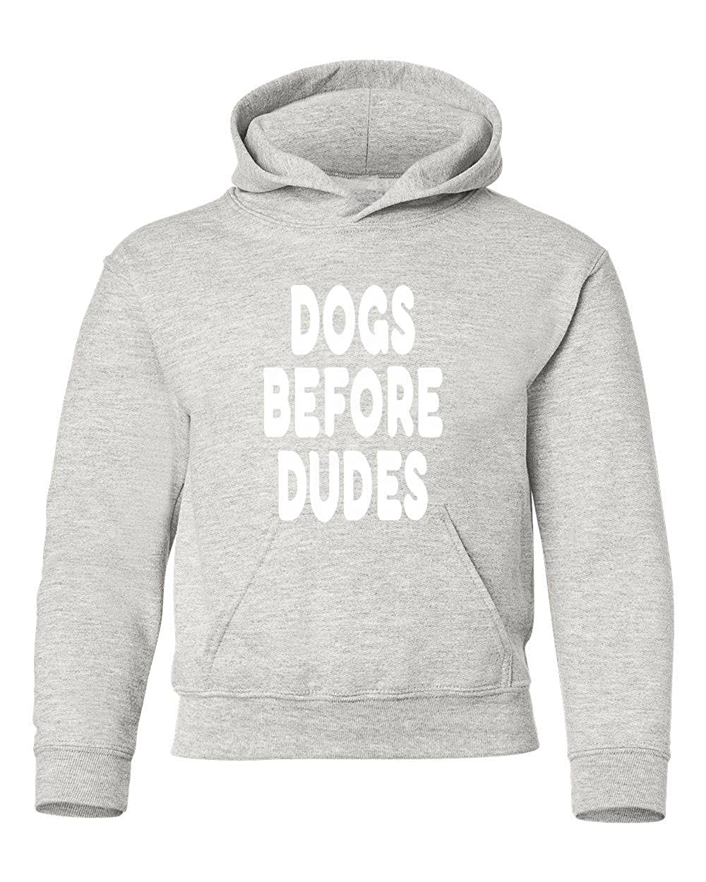 Marky G apparel Boys Dogs Before Dudes T-Shirt