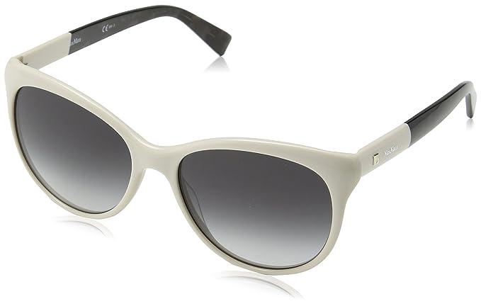 Max Mara Mm Cosy 9O Szj 56 Gafas de Sol, Blanco (Ivory/Brown ...