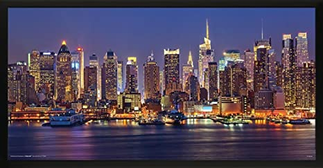 Amazon Com Culturenik New York City Nyc Manhattan At Night