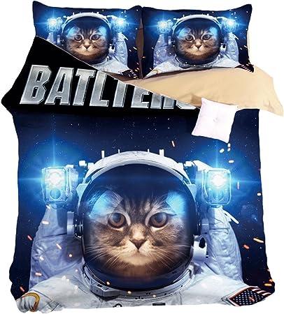 Colcha con gatitos | Colcha con diseños de gato, Edredones