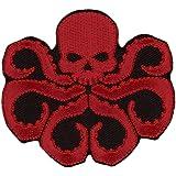 Dark Red Skull Hydra Agent Underworld Jacket Backpack Patch