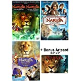 The Chronicles of Narnia: Complete Movie Trilogy DVD Collection (The Lion, the Witch and the Wardrobe / Prince Caspian…