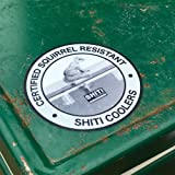 SHITI Coolers Certified Squirrel Resistant Sticker