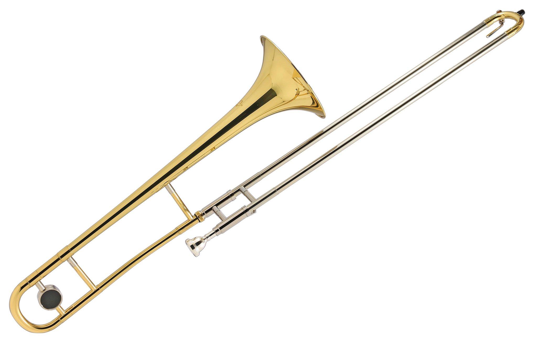 Kaizer Trombone B Flat Bb Gold Lacquer TBNE-1000LQ