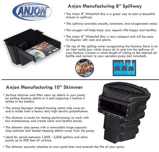 Amazon.com: Simply Ponds 1200 X8 Series - Kit de estanque y ...