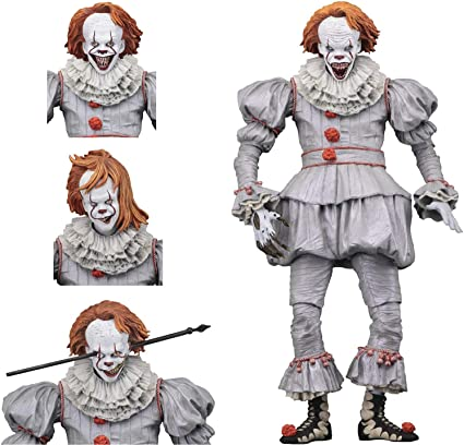 """2017 Ultimate Well House Pennywise IT 7"""" Scale Action Figure - NECA"""