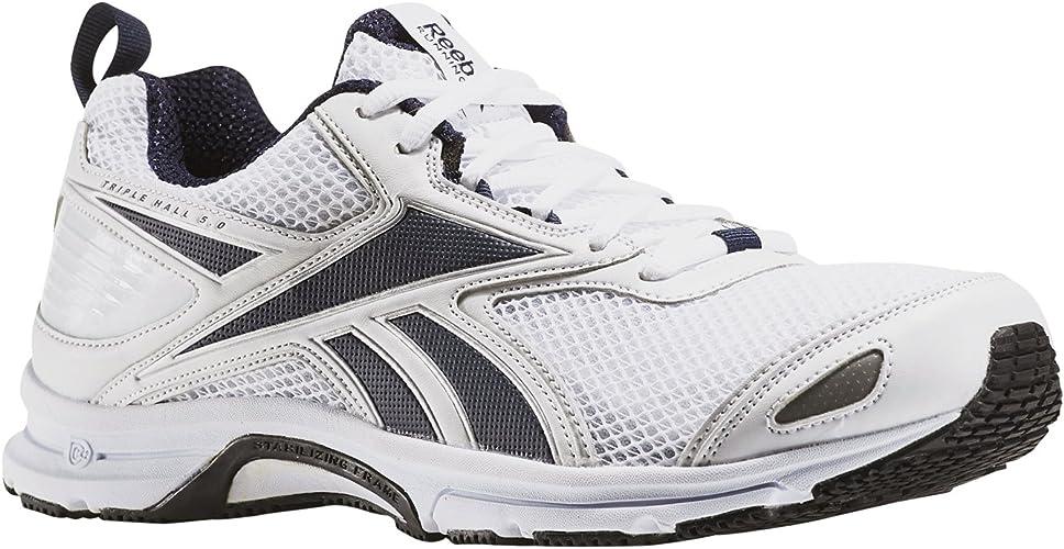 Reebok Triplehall 5.0, Chaussures de Running Homme, Blanc