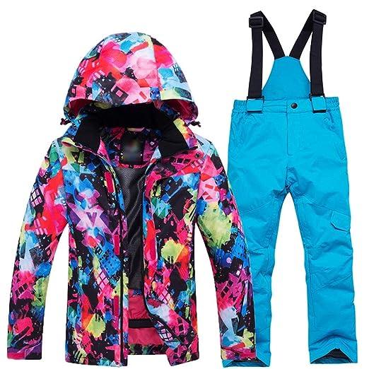 Chaqueta de esquí con capucha y traje de nieve ais Conjunto de ...