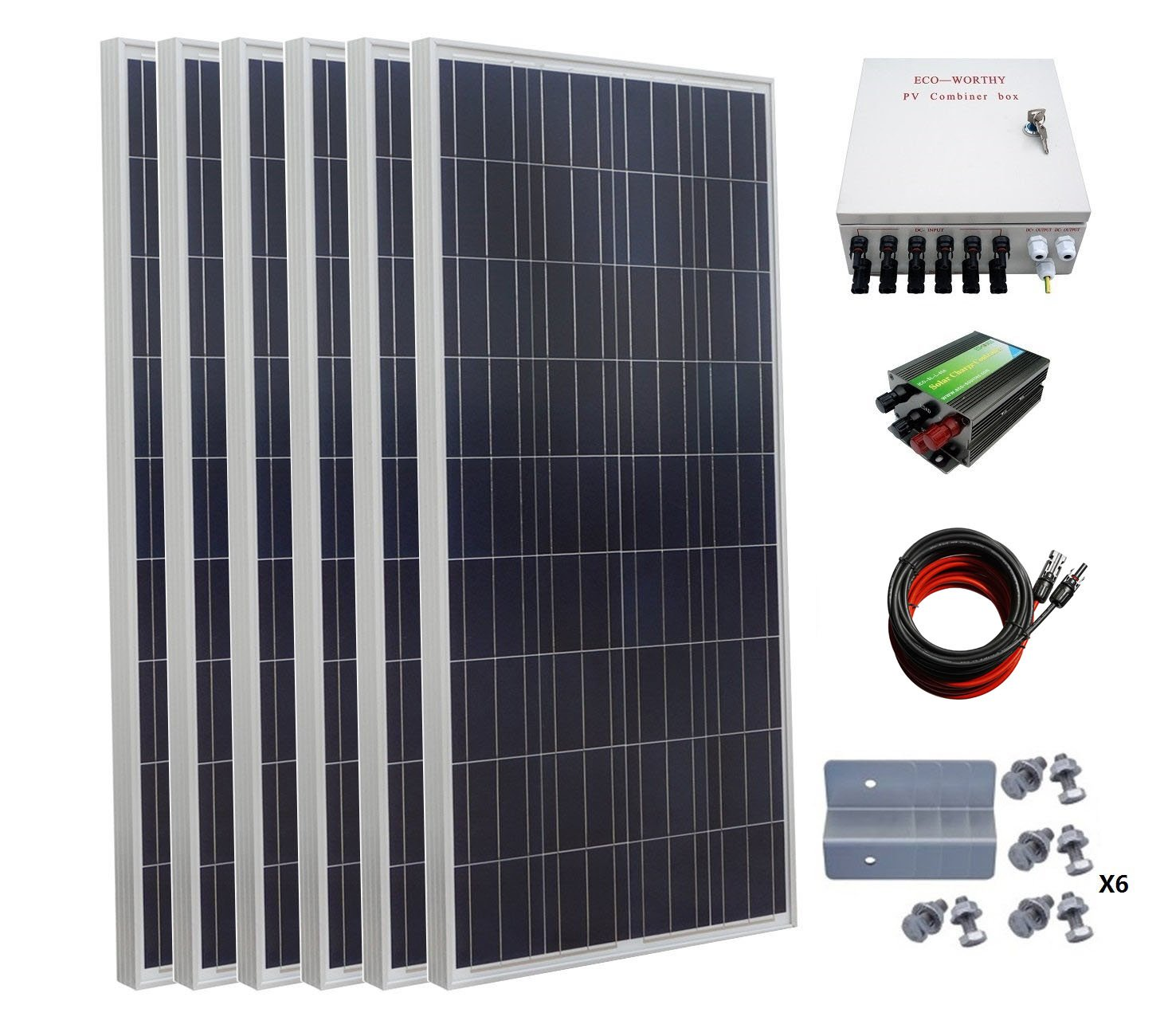 Best Solar Battery Chargers For Rv Charging Eco Worthy 10w 20w 30w 50w Panel Kit 12v