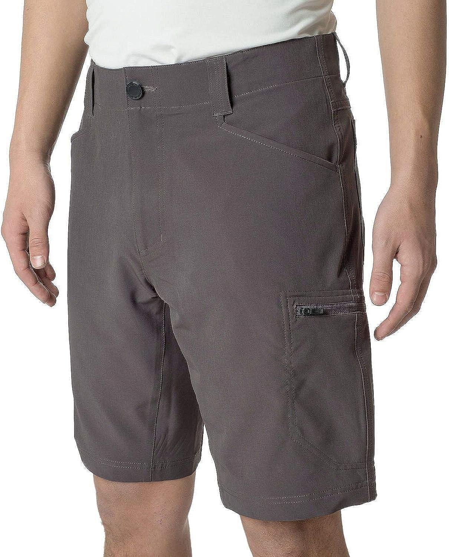 ZeroXposur Men's Lightweight Stretch Travel Shorts Color: Slate Size: (30)-(32)-(33)-(36)-(38) New