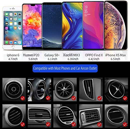 Z-overlord Car Aircon Outlet Mount Holder Smartphone Mount Mini ...