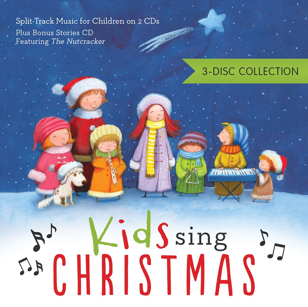 kids sing christmas 3 disc collection 3 disc collection split track music for children on 2 cds plus bonus stories cd featuring the nutcracker - Children Christmas Pictures 2