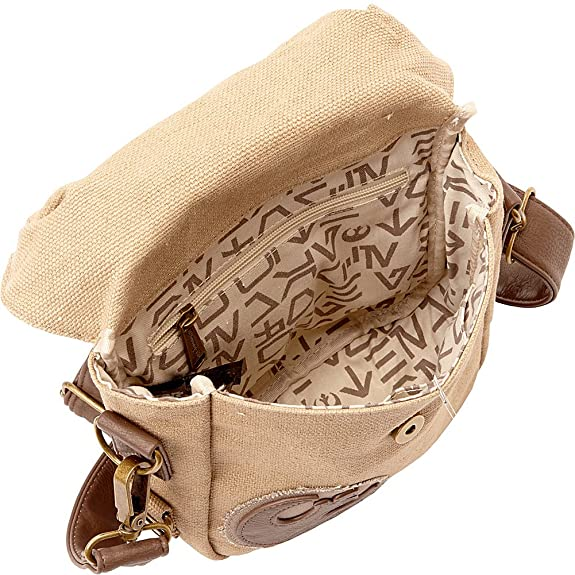 Loungefly The Force Awakens Star Wars Rebel Convertible Crossbody Waist Bag  Tan One Size  Handbags  Amazon.com a0d2b44b7d347