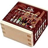 日本酒 蔵元交響 酒チョコレート 檜一合枡 6種アソート