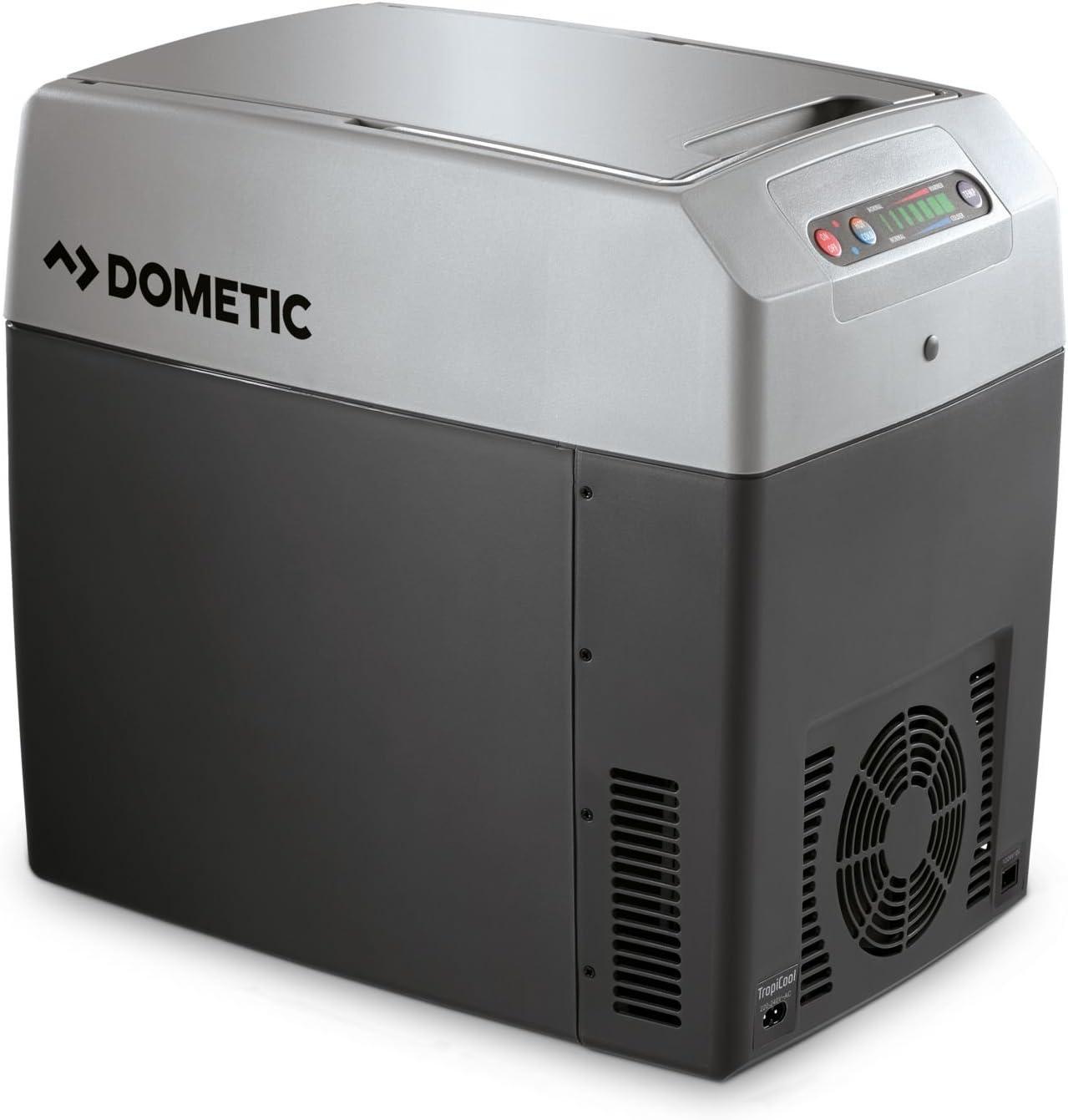 Dometic Tropicool TC 21 - Nevera termoeléctrica portátil, conexiones 12 / 24 / 230 V, 20 litros de capacidad, clasificación energética A++