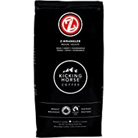 Kicking Horse Coffee, Z-Wrangler, Medium Roast, Whole Bean, 1 lb - Certified Organic, Fairtrade, Kosher Coffee