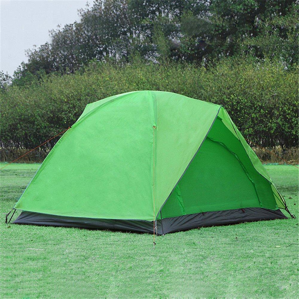 RFVBNM Wasserdichtes und winddichtes Campingzelt Outdoor-Campingzelt 3-4 Wild-Moskito-Reisezelt