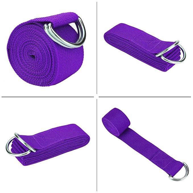 DOACT correa ajustable banda elástica D-Ring Belts - Gym ...