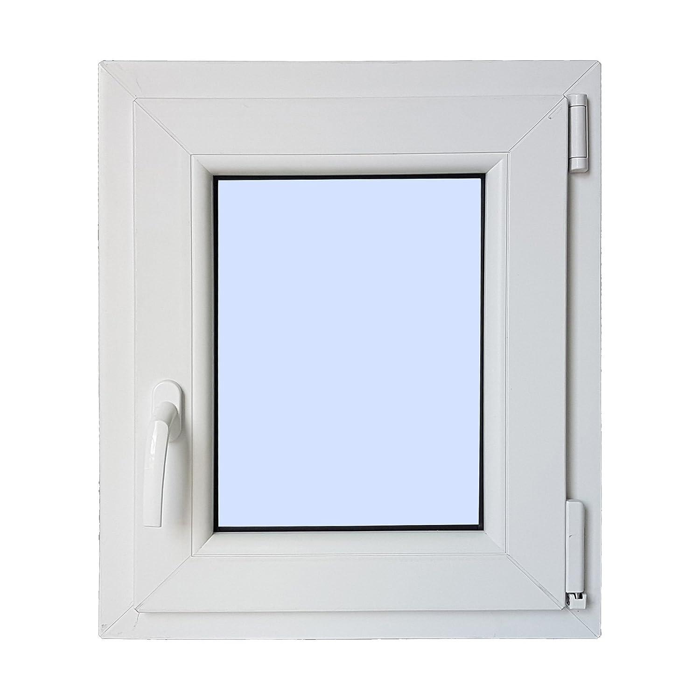 Ventana PVC Practicable Oscilobatiente Derecha 500X600 1 hoja con vidrio Carglass
