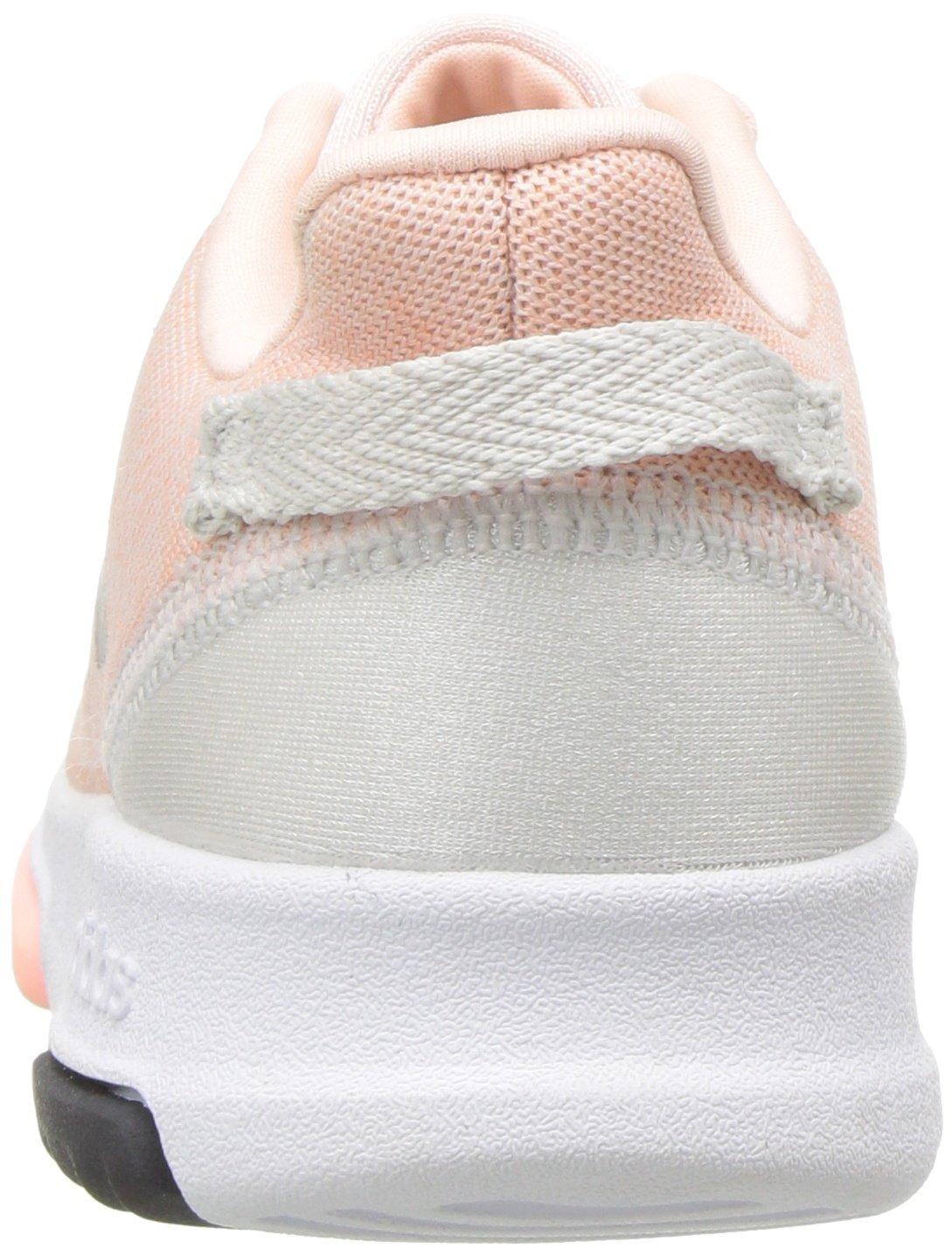 adidas Kids CF Racer TR Running Shoe, Haze Coral/Metallic Silver/White, 4K M US Toddler by adidas (Image #2)