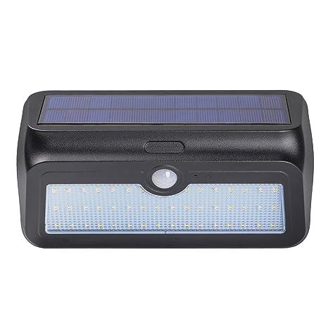 Zoeson 46 LED luz solar luz de sensor de movimiento nocturno con encendido y apagado automático