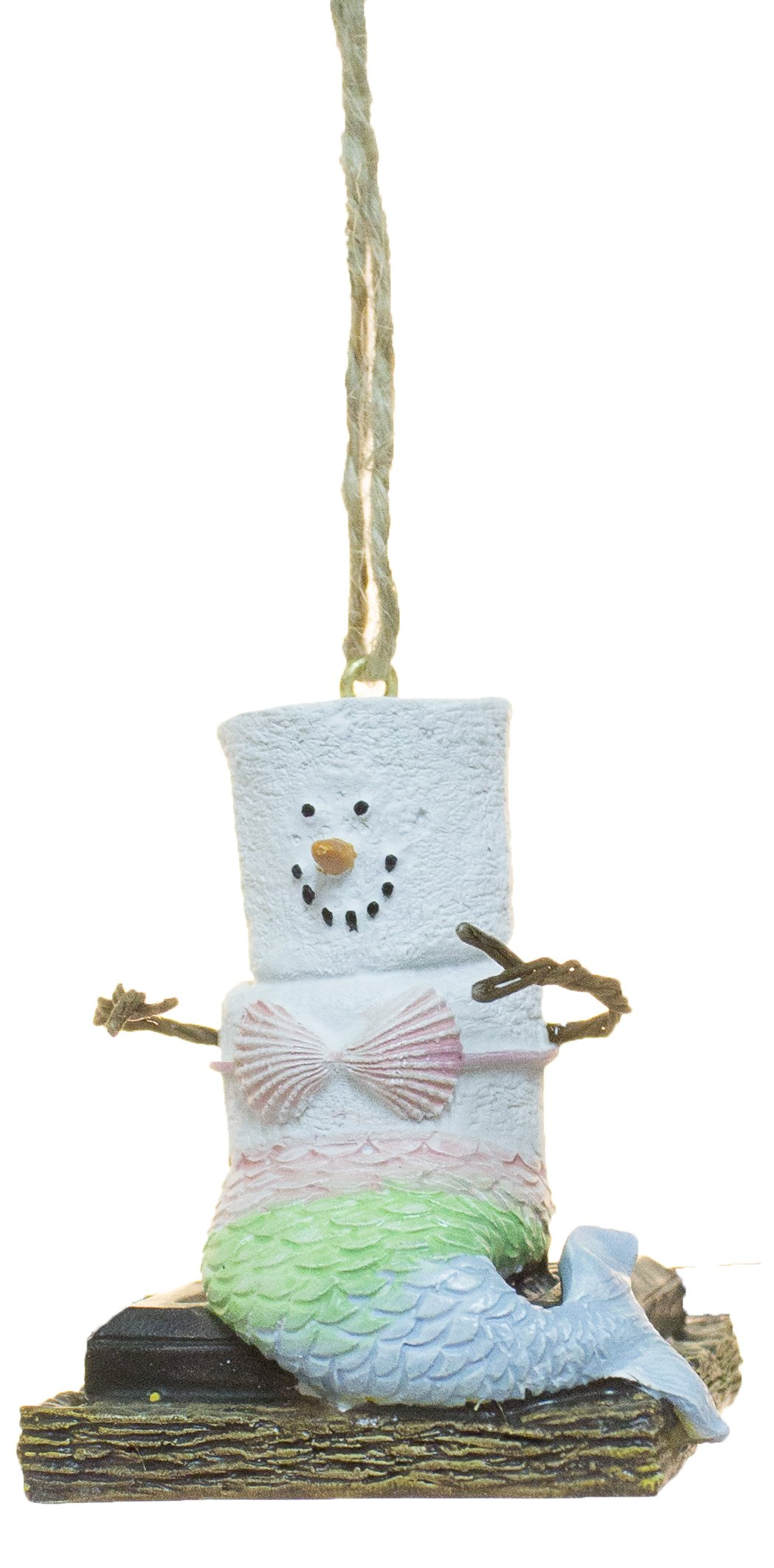 S'mores Mermaid Christmas/Everyday Ornament