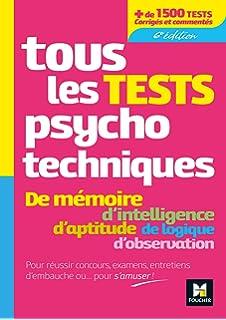 PSYCHOTECHNIQUE AFPA TEST TÉLÉCHARGER
