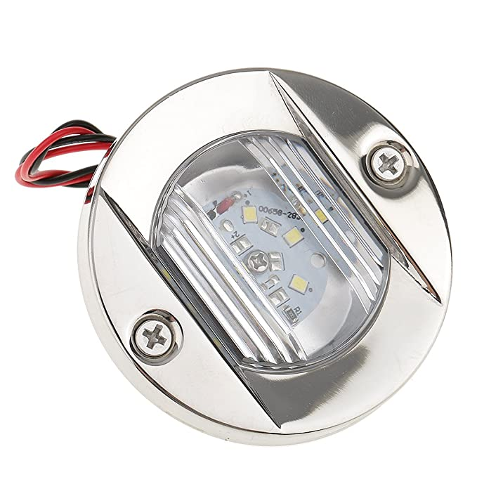MagiDeal LED Marine Boat Transom Stainless Steel Anchor