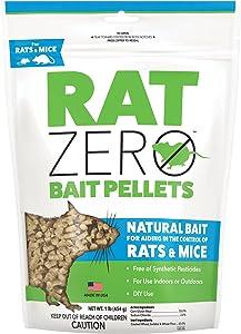 Tomcat Rat Zero Bait Pellets, 1 lb.
