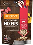 Nature's Variety Instinct by Freeze Dried Raw Boost Mixers Grain Free Recipe All Natural Dog Food Topper