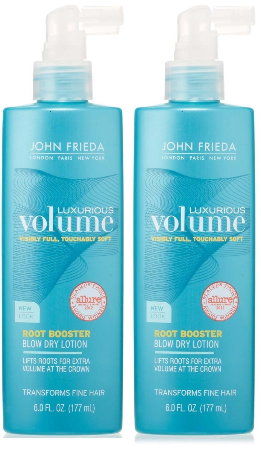 John Frieda Luxurious Volume Root Booster Blow-Dry Lotion, 6 oz (Pack of 2) by John Frieda