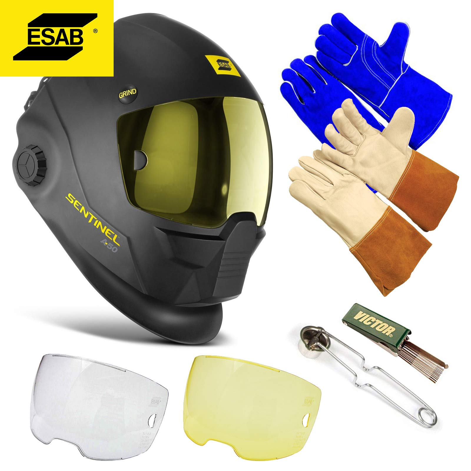 Esab Sentinel Automatic Welding A50 Helmet Hood, Part# 0700000800 - Brand New, Not In Original Packaging - Full Manufacturer's Warranty