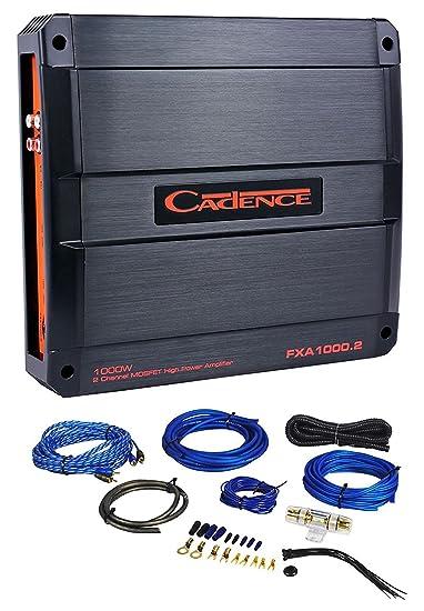 Cadence FXA1000.2 1000 Watt 2-Channel Car Audio Amplifier Amp