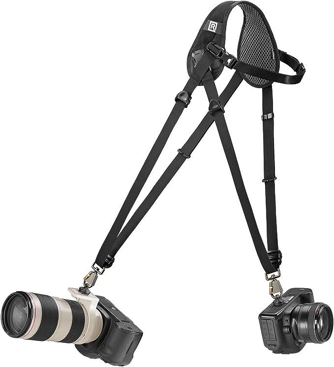 Blackrapid Hybrid Breathe Courroie Double Simple Kamera