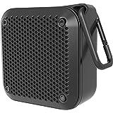 2020年 最新版Bluetoothスピーカー LEZII ポータブルミニ 高音質 Hi-Fiサウンド IPX7防水防塵 耐衝撃、大音量、TWS対応/車載、風呂用、アウトドア/マイク内蔵、AUXケープルポート、USB充電、TFカード、ハイパワー 長距離伝送