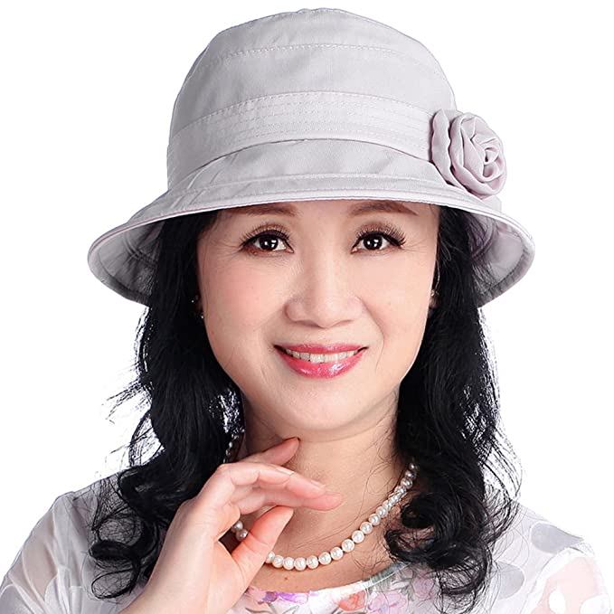 Korean version of middle and old aged womens hat Summer hats MOM and ... eed1b2b71c7
