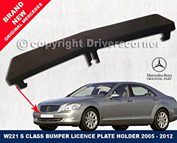 MERCEDES S CLASS NUMBER PLATE MOULDING PLATE W221 - A2218850081 & MERCEDES S CLASS NUMBER PLATE MOULDING PLATE W221 - A2218850081 ...