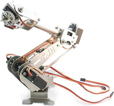 Aluminium Schwarz Mechanischen Roboter Arm Klammer Montage Roboter-Kit für