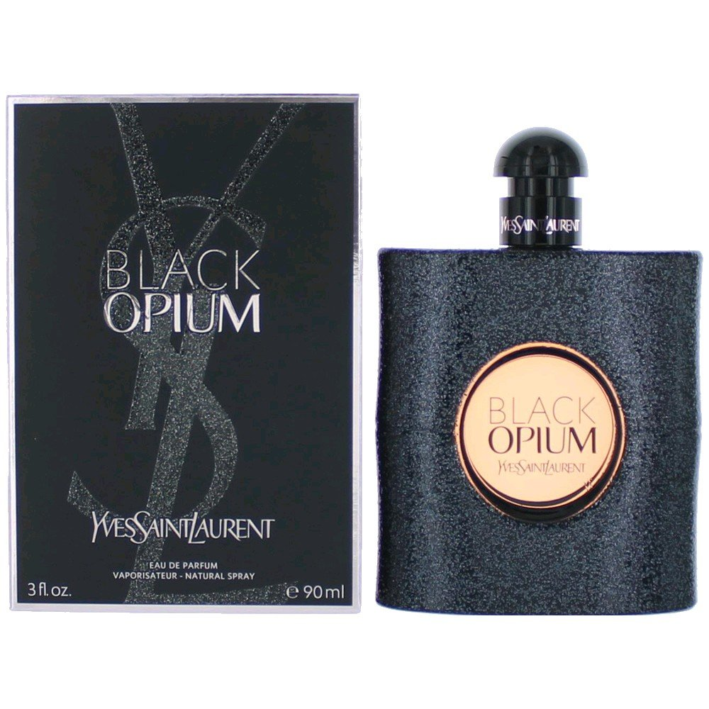 Yves Saint Laurent Eau De Parfum Spray for Women, Black Opium, 3 Ounce YSL-787971 625-87971
