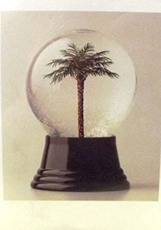 Palm Tree Snow Globe Christmas Cards 10pk Amazoncouk Office Products