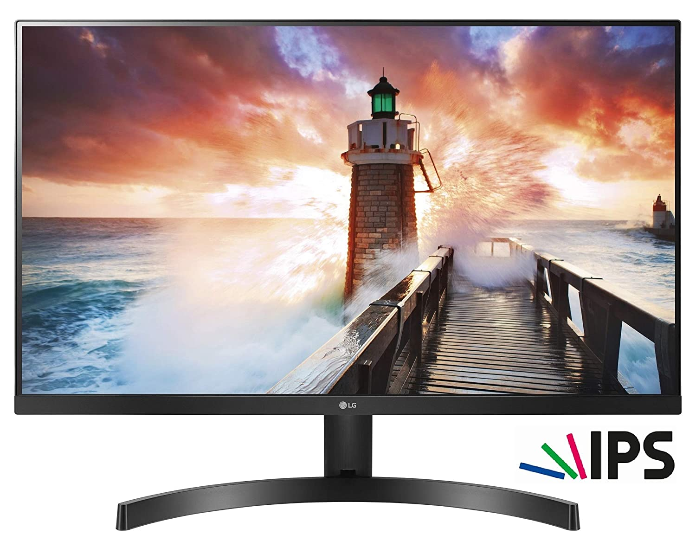 LG 24MK600M-B Ecran PC IPS 24' 1920x1080 Pixels 5 ms Noir