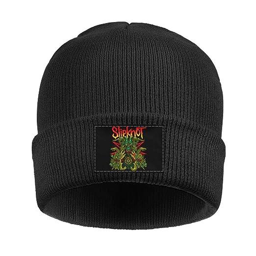 aecfd70e59a0 KmTGlory Slipknot-Goat-Green- Beanies Hats for Women Soft Beanie Knit  Winter Cap