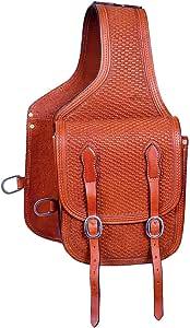 Myhoovesandpaws Black Trail Saddle Cantle Bag Horse Western Bags 15-0140