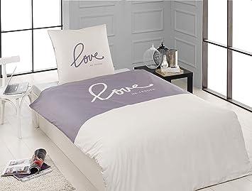 2 Tlg Renforcé Bettwäsche Set Bettdeckenbezug 155x200 Cm Mit