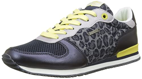 Pepe Jeans London Gable Print, Zapatillas para Mujer: Amazon.es: Zapatos y complementos