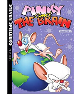 Pinky And The Brain Christmas Wish.Pinky And The Brain Volume 1 Amazon Ca Pinky The Brain
