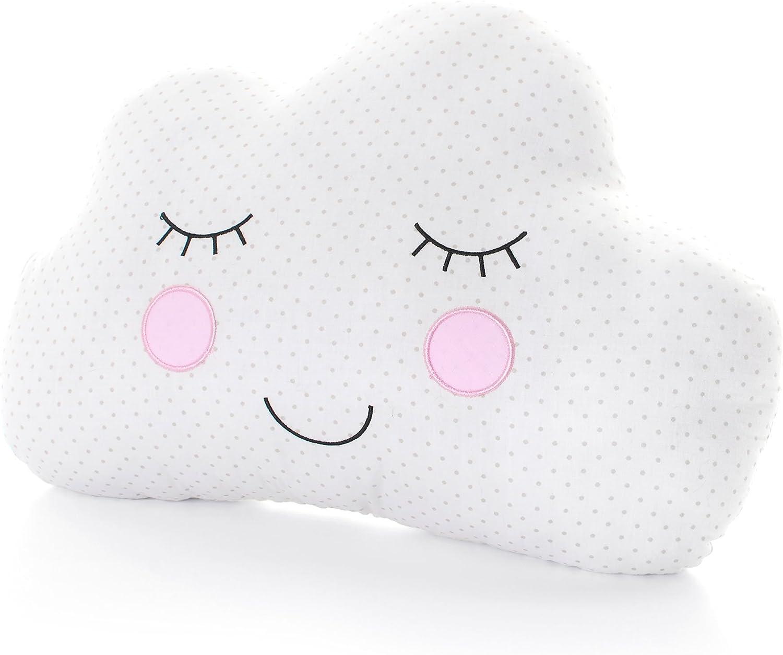 Sweet Dreams sonriente coj/ín en forma de nube ni/ños habitaci/ón de los ni/ños guarder/ía