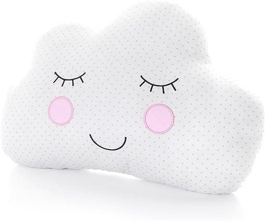 Cuscini A Forma Di Nuvola.Sweet Dreams Sorridente Cuscino A Forma Di Nuvola Per Bambini